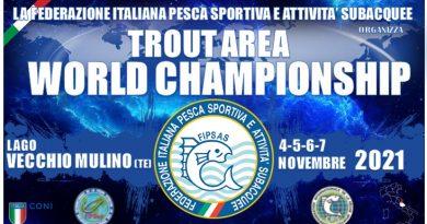 """1° Campionato Mondiale """"Trout Area"""""""